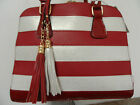 Ladies/Womens Designer Red PU Fashion Crossbody Shoulder Handbag.