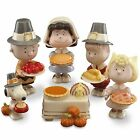 LENOX ***PEANUTS*** THANKSGIVING  ~  6 FIGURINES ~ NEW IN LENOX GIFT BOX!!!