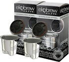Ekobrew Elite Stainless Steel Reusable K-cup Filter For Keurig 2.0 & 1.0 Brewers