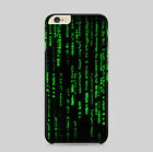 Matrix Hacker Green Codes Neo Classic Game Film Phone Case Cover
