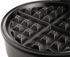 Silver Small Oster Belgian Waffle Stainless Steel Light Cool Nonstick Touch