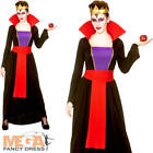 Wicked Evil Queen Ladies Fancy Dress Halloween Villain Adults Women Costume New