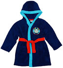 Boys Thomas The Tank Engine Hooded Fleece Dressing Gown 12 Months to 4 Years