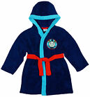 Boys Thomas The Tank Engine Hooded Fleece Dressing Gown 12 Months to 5 Years