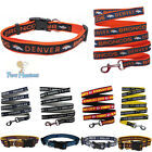 NFL Pet Fan Gear Dog COLLAR or Dog LEASH for Dogs- ALL TEAMS-PICK YOURS BIG SIZE