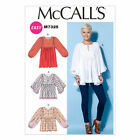 McCalls 7325 Very Easy Gathered Tunic Top XS - Plus Size Sewing Pattern M7325