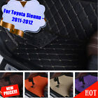 Excellent Bring Auto Car Floor Mat Skidproof C37LJ For Toyota Sienna - 2011-2012