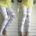 2016 Sexy High Waist Slim Skinny Women Leggings Stretchy Pencil Pants Jeggings