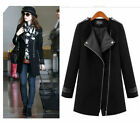 NEW HOT Women Warm Wool Cashmere Long Winter Parka Coat Outwear Trench Jacket