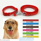 Fashion Pet Dog Traction Rope Pet Collar With Bell Dog Lead Leash Chain Pet