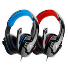 Surround Stereo Gaming Headset Headband Headphone 3.5mm w/ Mic for PC Laptop Lot