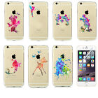 Watercolor Disney Pattern Crystal Hard Phone Cover Case Skin For iPhone 7 7 Plus