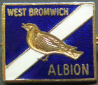WEST BROMWICH ALBION FC Vintage badge Maker COFFER London Brooch pin 23mm x 19mm