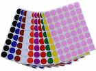 17 mm Round Small Dots Stickers Color Coded Labels ~3/4 Inch Diameter 336 Pack