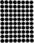 """Colored Dot Stickers Round circle Label 1/2"""" Half Inch 1200 Pack by Royal Green фото"""