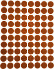 """Colored Dot Stickers Round circle Label 1 /2"""" Half Inch 1200 Pack by Royal Green"""