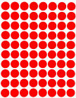 "Colored Dot Stickers Round circle Label 1/2"" Half Inch 1200 Pack by Royal Green фото"
