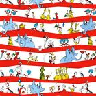LICENSED DR SEUSS CHARCTERS CAT IN HAT QUILT SEWING CRAFT FABRIC Free Oz Post