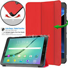 """SMART Folio Magnetic Flip Smart Book Case Cover Samsung Galaxy Tab For S2 9.7"""""""