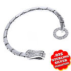 D/VSS1 Diamond Bracelet with 14K White Gold Ovre Link Bracelet