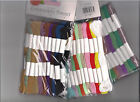 Pack of 20 Assorted Colour Embroidery Threads, Dark, Medium or Pastel Shades BN