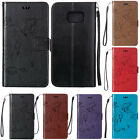 Magnetic Pattern Leather Wallet Case Card Slot Flip Cover For Samsung Galaxy