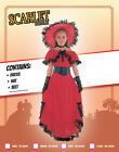 Childs Scarlet OHara Costume Girls Red TV and Film Costumes