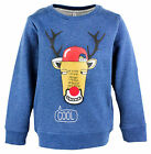 Boys Cool Team Rudolph Xmas Sweater Jumper Christmas Top 12 Months to 6 Years