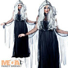 Vengeful Spirit Ladies Halloween Scary Dark Ghost Fancy Dress Womens Costume New