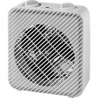 Electric Portable Space Heater Adjustable Thermostat Fan Cozy Home Room Heating