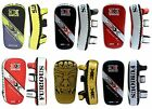 3X Sports Pro Gel Shin Instep Foot Pads MMA Quijotes Muay Thai Boxing Formación
