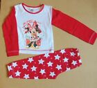 girls minnie mouse pyjamas-christmas design