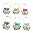 Butterfly Wine Glass Charms - 3 Different Gift Options ~ FREE P&P
