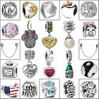 925 Sterling Silver Charms Bead Handmade Jewelry Fit Fashion European Bracelets