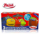 [ZAINI DISNEY] Milk Chocolate Eggs Collectible Toys Inside 3 Eggs Made in ITALY