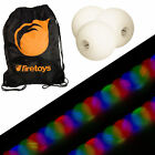 Glow Juggling Ball Set - 3x Strobe LED Juggling Balls & Firetoys Bag!