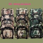 90L Travel Hiking Camping Military Luggage Backpack Rucksack Outdoor Bag 3 color