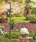Antiqued Rustic Old Fashioned Faucet Single or Double Planter Garden Stake NEW