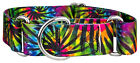 Country Brook Design® 1 1/2 Inch Martingale Dog Collar - Stripes Collection