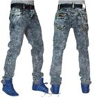 Mens slim fit blue stripe jungle g jeans, urban skinny star denim beached pants