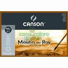 CANSON MOULIN DU ROY 300 g/mq CARTA GRANA RUVIDA BLOCCHI COLLATI 4 LATI ACQUEREL