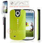 Hybrid Dual Layer Armor Defender Case Cover for Samsung Galaxy S4 i9500 Green