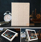 Magnetic Folding Folio Leather Smart Cover Case for iPad 4 3 2 Pearl White USA