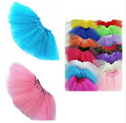 US Stock Cute Girl Ballet Tulle Dance Tutu Princess Fancy Party Dress Mini Skirt