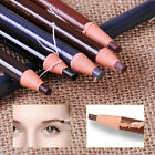 12pcs Hot Eyebrow Pencil Colored Soft Cosmetic Art Permanent Makeup Waterproof
