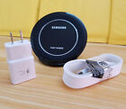 OEM Fast Wireless Qi Charge STAND Pad+Wall charger For Samsung Galaxy S7 S7 edge