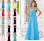 2017 Long Formal Evening Ball Gown Party Prom Bridesmaid Dress Stock Size 6-18