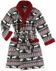 Lazy One Moose Fair Women's Bathrobe, Choice of Sizes