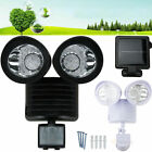 security light sensor settings - Dual Security Solar Powered Motion Sensor 22 60 100 LED Light Outdoor Lot Sale