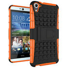 Luxury Shockprpoof Kickstand Dual Layer Hard Armor Case Cover For HTC One Model